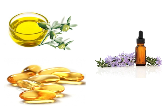 Homemade Lotion Using Jojoba Oil, Vitamin E Oil And Essential Oils