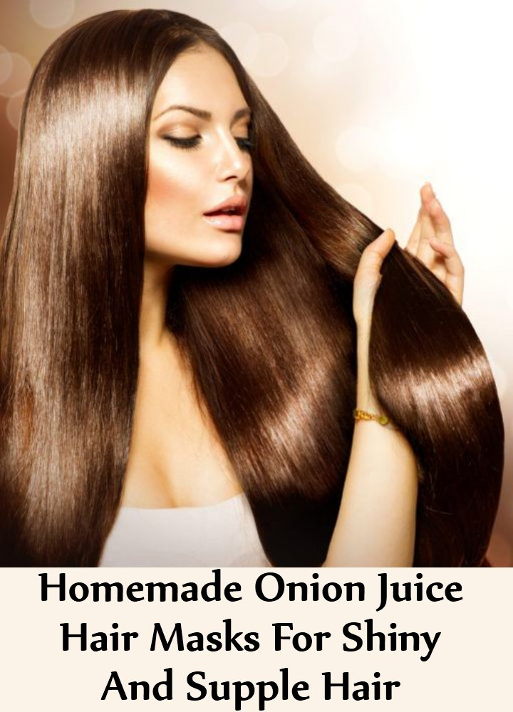 5 Homemade Onion Juice Hair Masks For Shiny And Supple Hair
