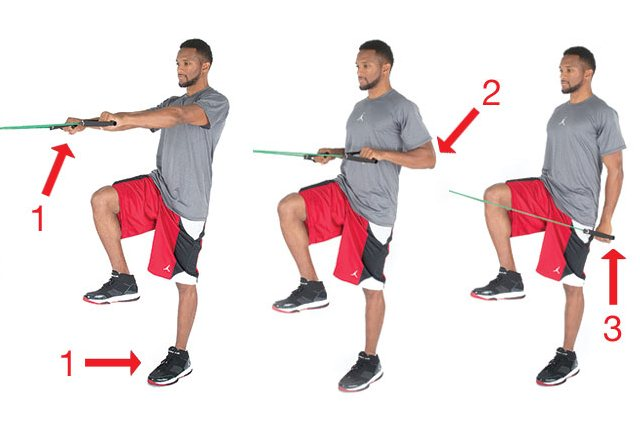 One Leg Row (Shoulders, back, legs)