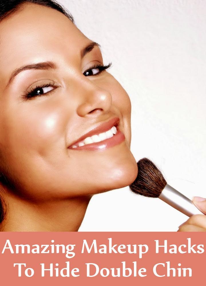 5 Amazing Makeup Hacks To Hide Double Chin