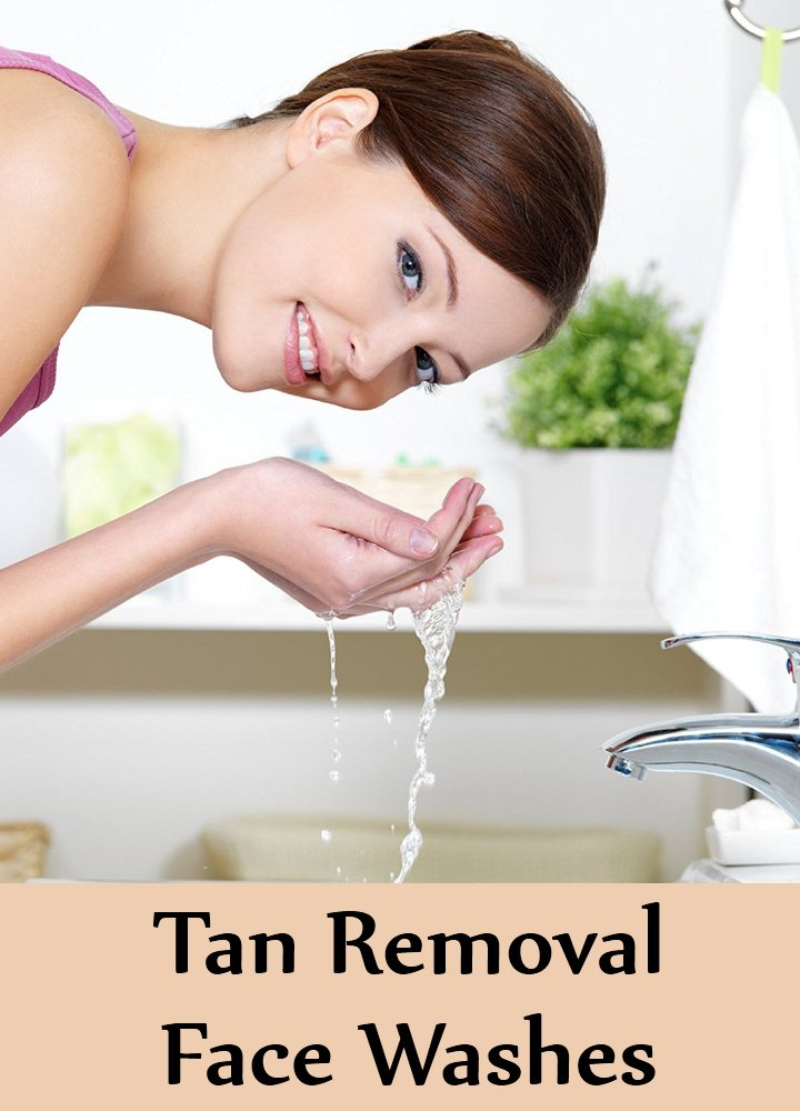 Tan Removal Face Washes