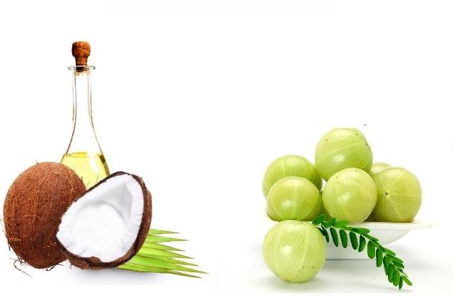 Indian Gooseberry And Coconut Oil Hair Pack