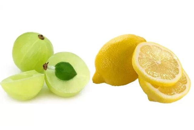 Indian Gooseberry And Lemon Juice Hair Pack