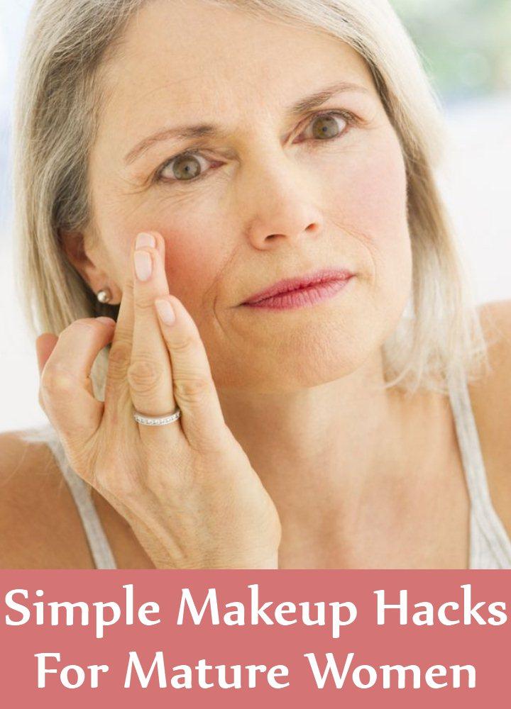 6 Simple Makeup Hacks For Mature Women