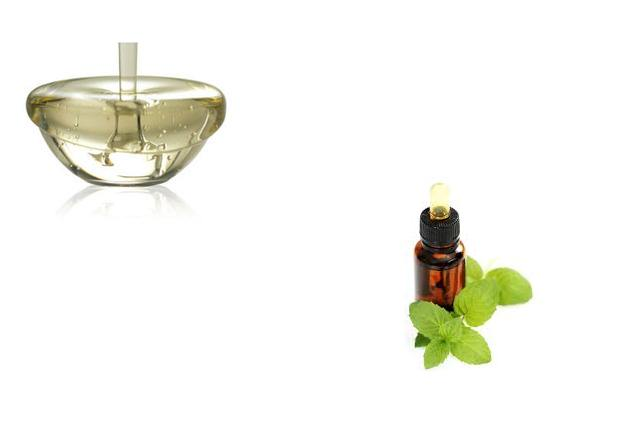 Sugar Syrup And Peppermint Oil