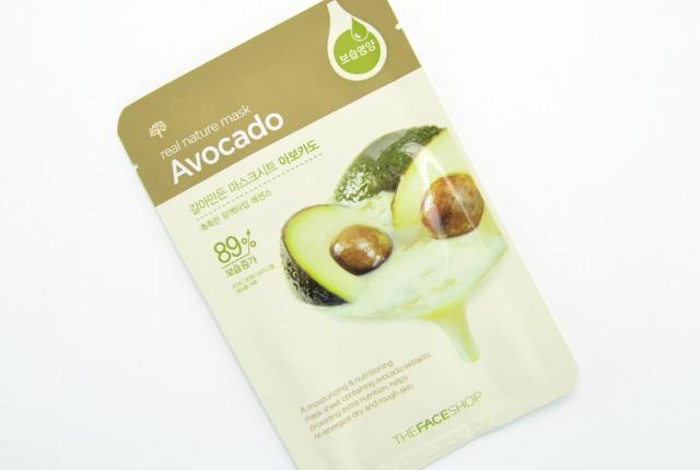 The Face Shop Real Nature Avocado Face Mask