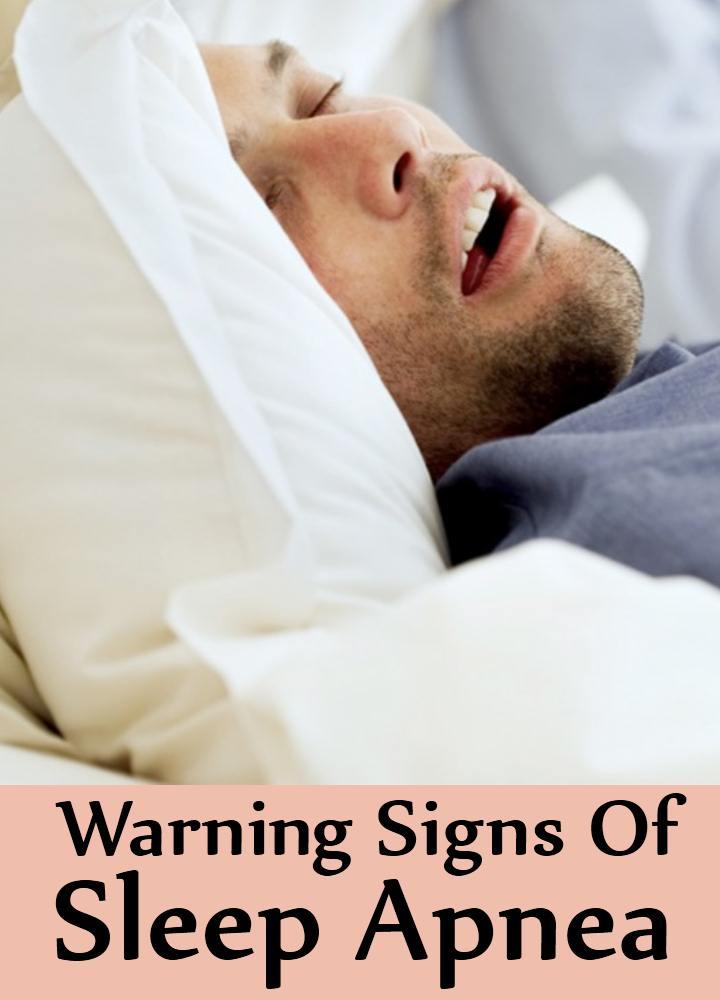 5 Warning Signs Of Sleep Apnea