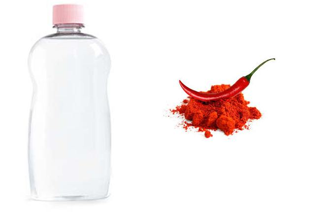 Cayenne Pepper And Baby Oil