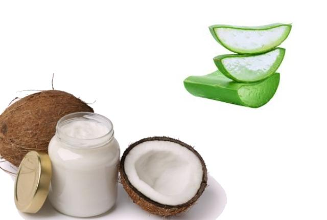 Coconut Oil And Aloe Vera