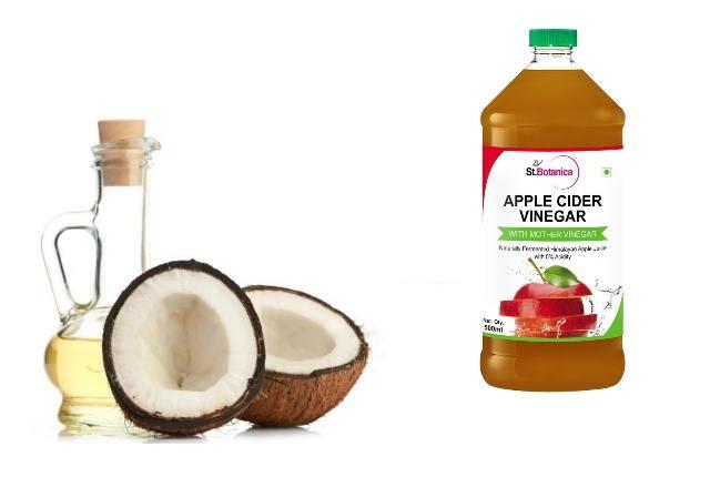 Coconut Oil And Apple Cider Vinegar