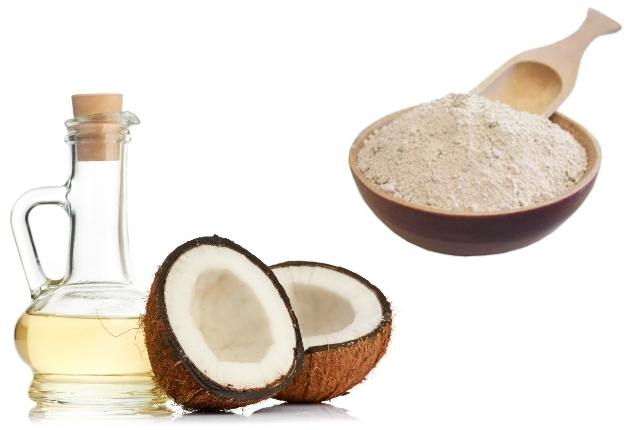 Coconut Oil And Fuller's Earth