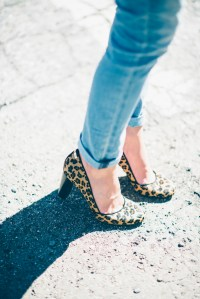 A Casual Outfit + Leopard Pumps | Finding Beautiful Truth