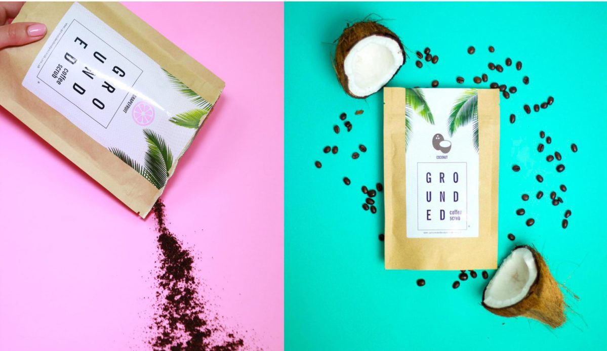 Get Grounded with Grounded Coffee Scrub