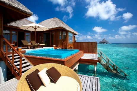 Huvafen Fushi: A Seductive Private Adults Only Resort in the Maldives