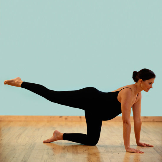 Maintain strength and flexibility throughout pregnancy, but don't hurt yourself (or the baby!) Photo source: fitsugar.com