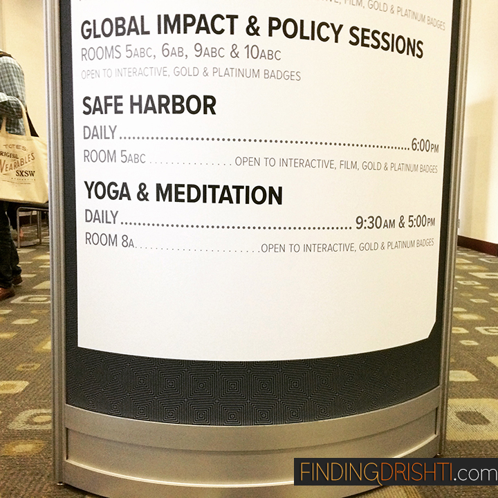 Yoga & Meditation at Convention Center
