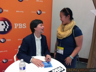Chatting with Ken Burns