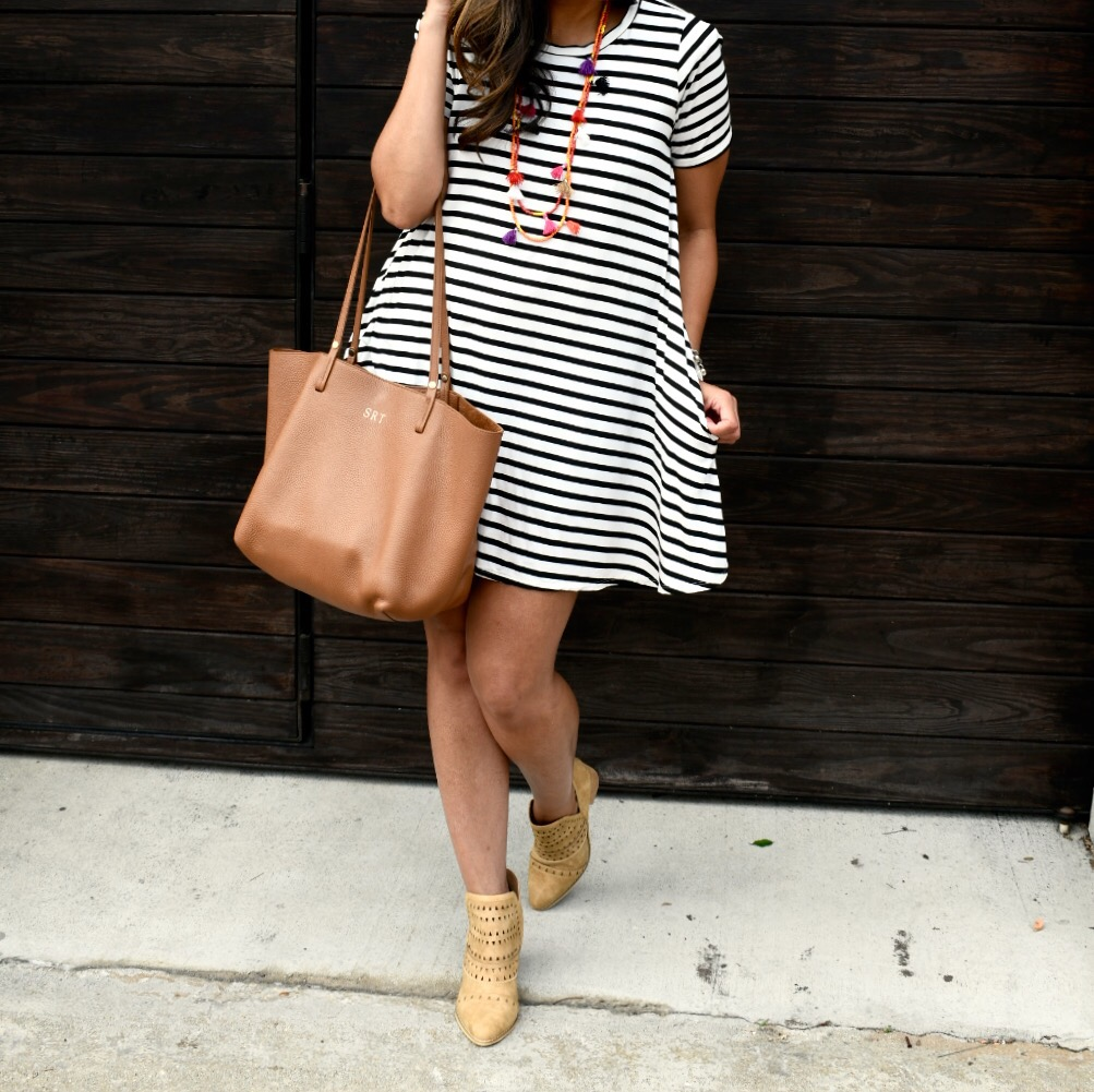 Stripes + Booties