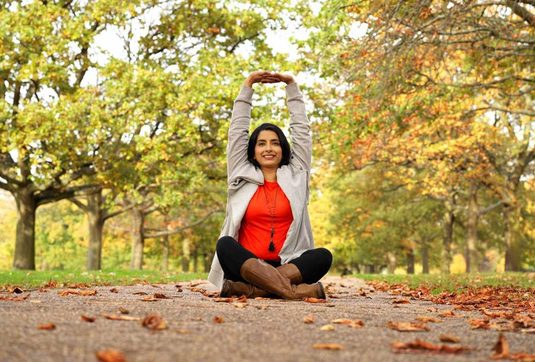 Anji Gopal - Yoga Teacher Ealing London