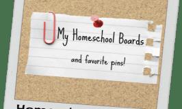 My Favorite Homeschool Pins on Pinterest