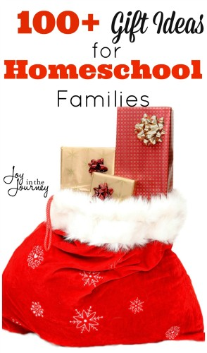 100 Christmas Gift Ideas For Homeschool Families