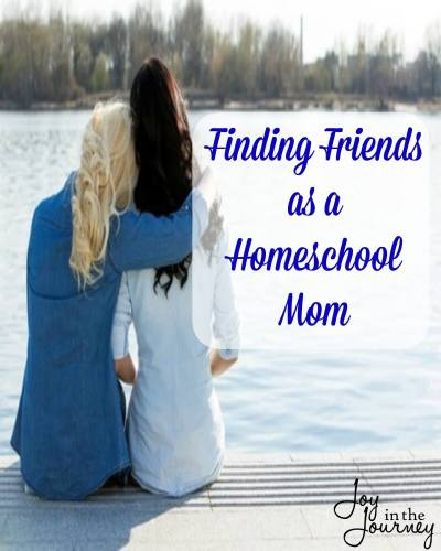Finding Friends as a Homeschool Mom Where you can find friends as a homeschool mom?We are going beyond just showing up at a homeschool co-op and giving you REAL advice and links to help you meet other homeschool moms and find friends who understand what you are going through