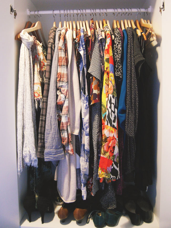 KonMari clothes wardrobe