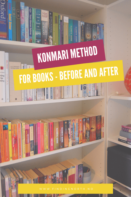 The KonMari method for books