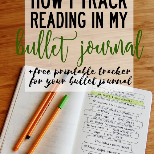 Reading in the Bullet Journal