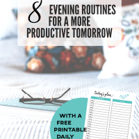 Evening routine - crafting your productive tomorrow today