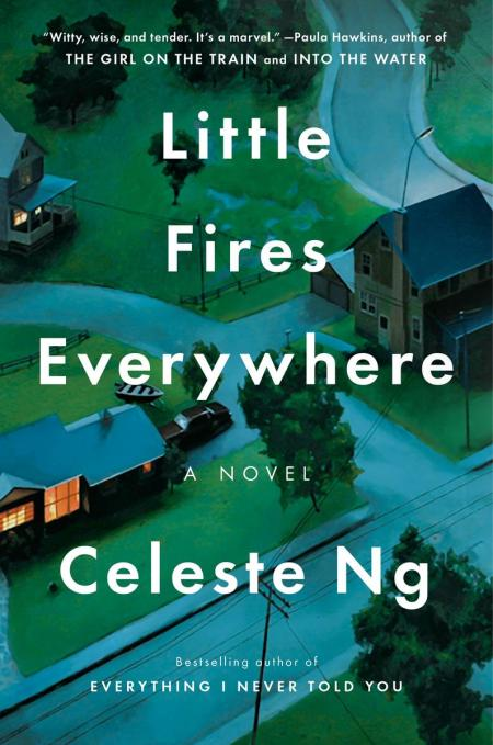 Little Fires Everywhere by Celeste Ng. Cover
