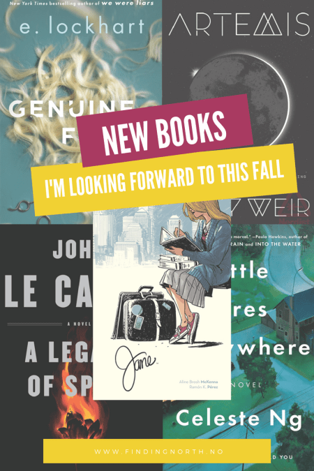 New books I'm looking forward to this fall