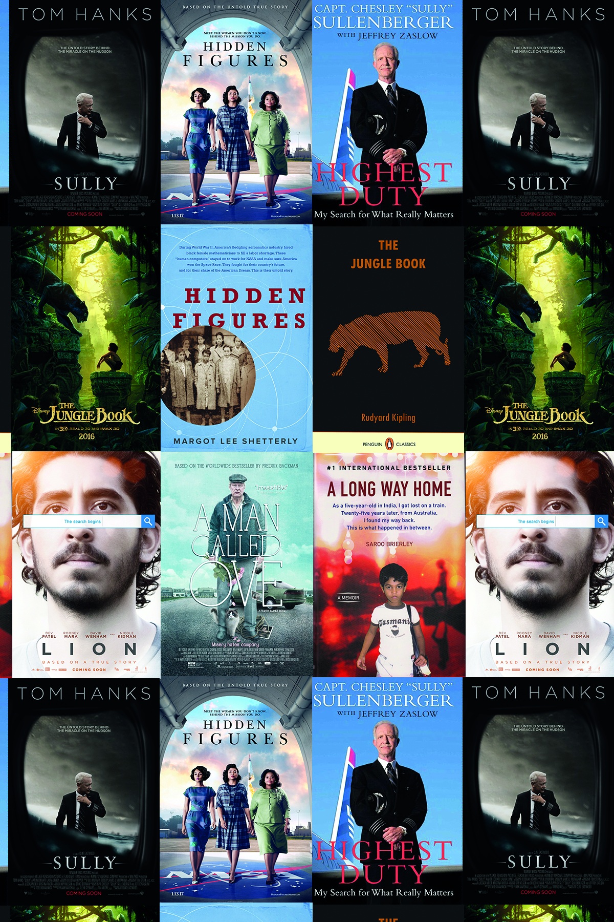 great books that inspired movies at the Oscars