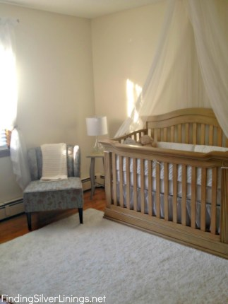 Soft white nursery