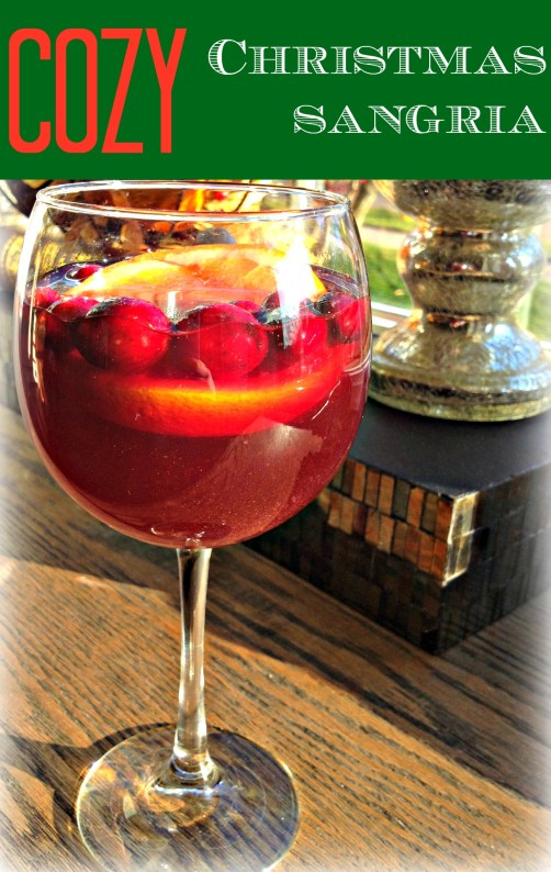 Cozy Christmas Sangria Recipe