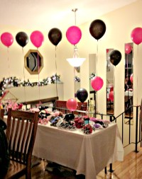hot pink and zebra baby shower decorations | Finding ...