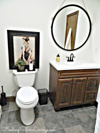 Bathroom Renovation Under $1,000 | Finding Silver Linings