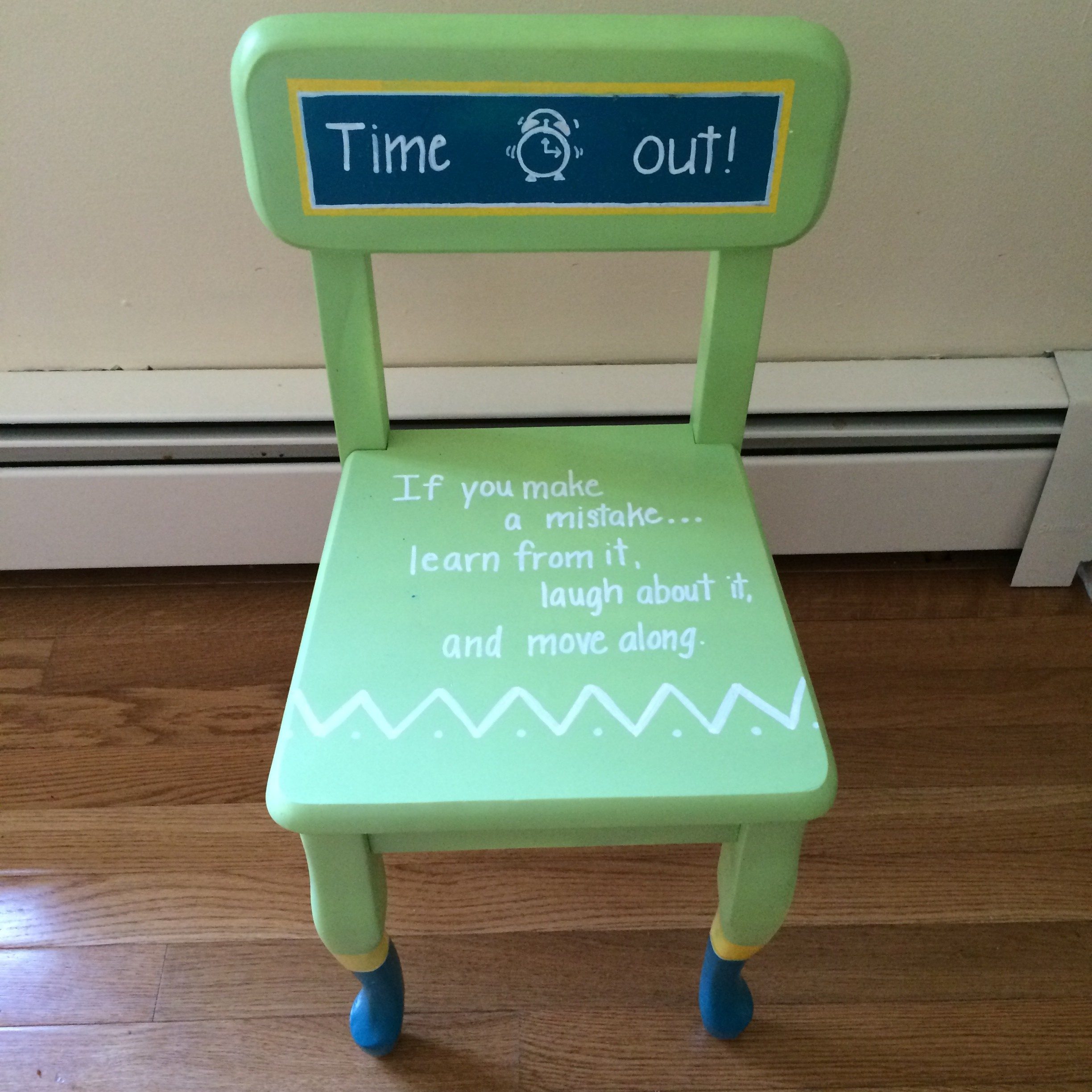 Diy Time Out Chair Finding Silver Linings