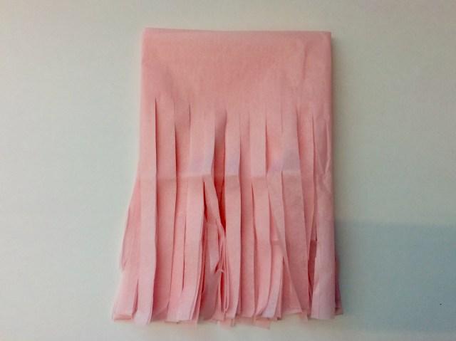 DIY ribbon tassel garland!