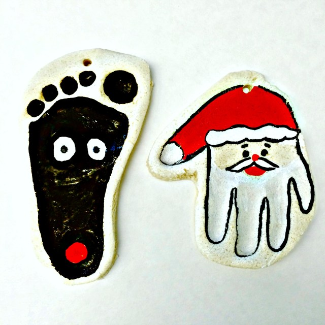 The cutest salt dough ornaments!