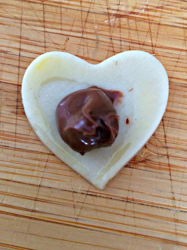 nutella stuffed mini poptarts