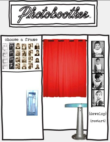 photoboother.com - create photobooth strips from your digital pictures