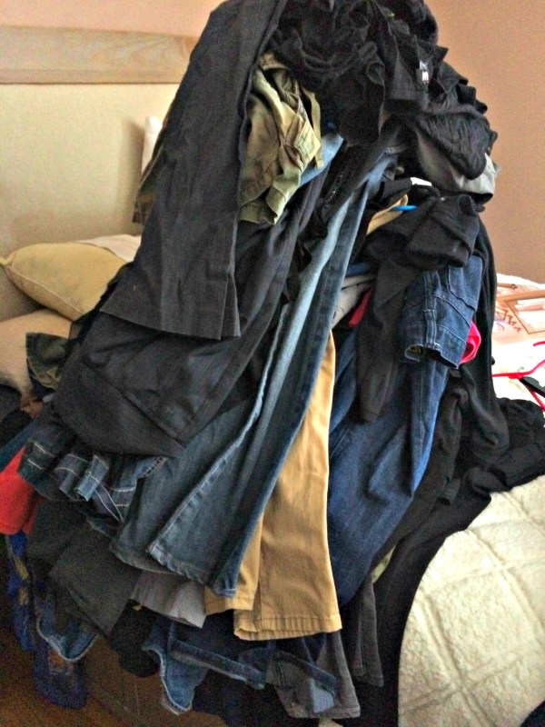 Purging a closet