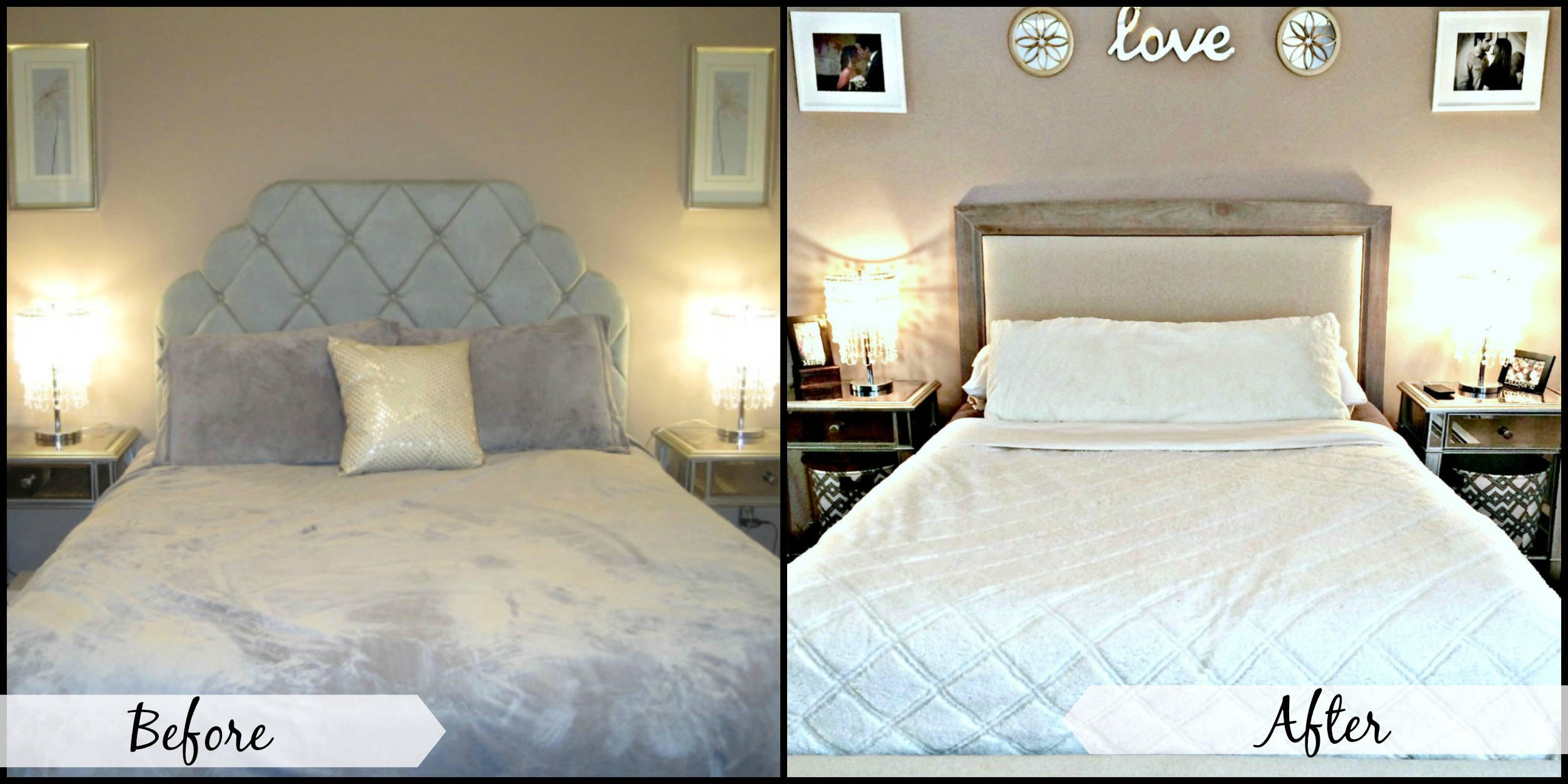 Before And After Bedroom Redo