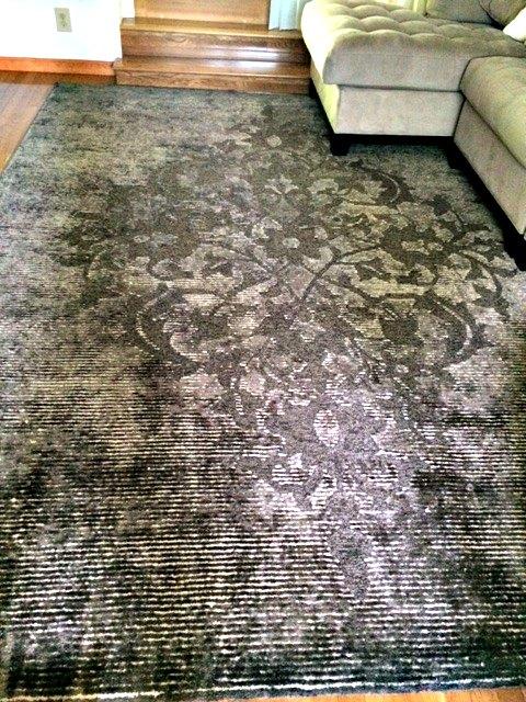 cenon engraved medallion rug