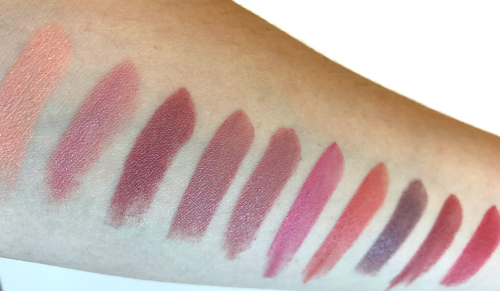 bobbi-brown-original-10-lipstick-swatches-in-natural-light
