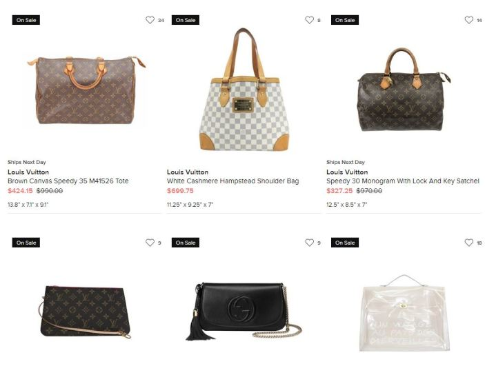 tradesy designer bags