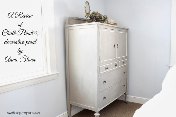 Chalk Paint & Clifton Armoire - Finding Silver Pennies