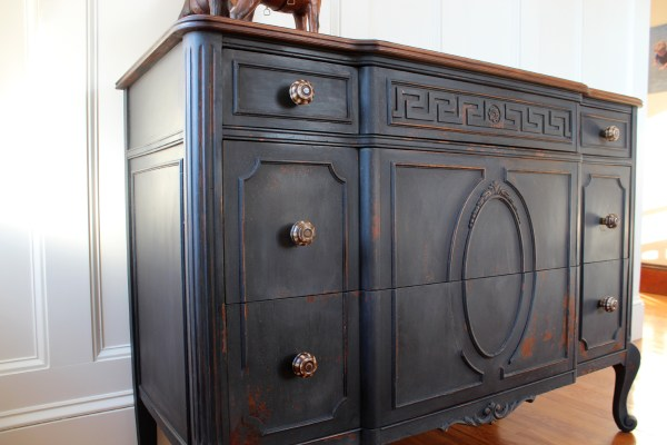 The Joyce Dresser (Before & After) - Finding Silver Pennies