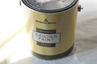 How to Paint Calcimine Ceilings - Finding Silver Pennies